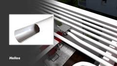 Helios Flex FRS-R 75 FlexPipe 50 м Пластиковый воздуховод для приточно-вытяжных установок