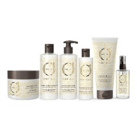Oro di Luce - Уход и стайлинг волос с протеинами шелка и маслом семян льна
