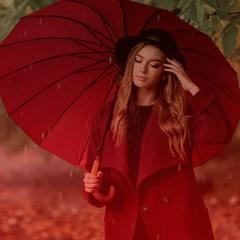Женские зонты трости