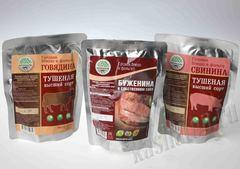 Мясо в реторт-пакетах