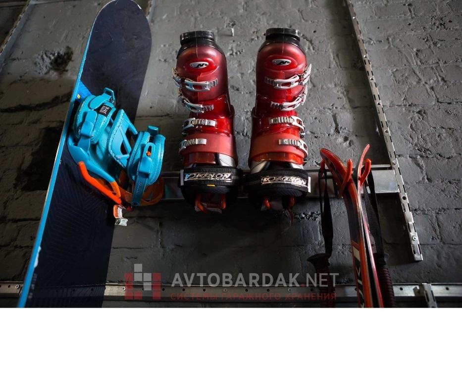 Модульная система хранения лыж и сноубордов (крепление на рейлинг)