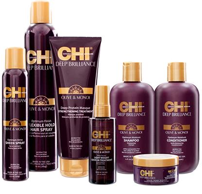Deep Brilliance Olive & Monoi - Для вьющихся и жестких волос