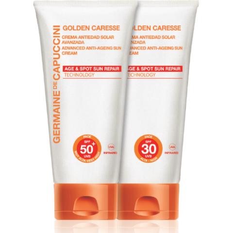 Golden Caresse - Солнцезащитная линейка