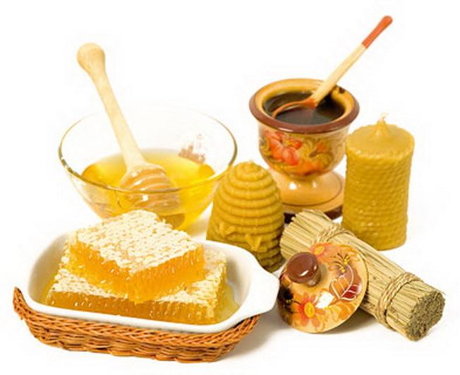С продуктами пчеловодства