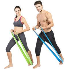 Эластичные ленты и эспандеры для фитнеса