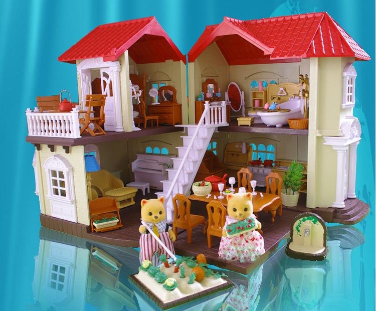 Happy family (Хэппи Фэмили) кукольные домики, мебель и семейки лесных зверьков