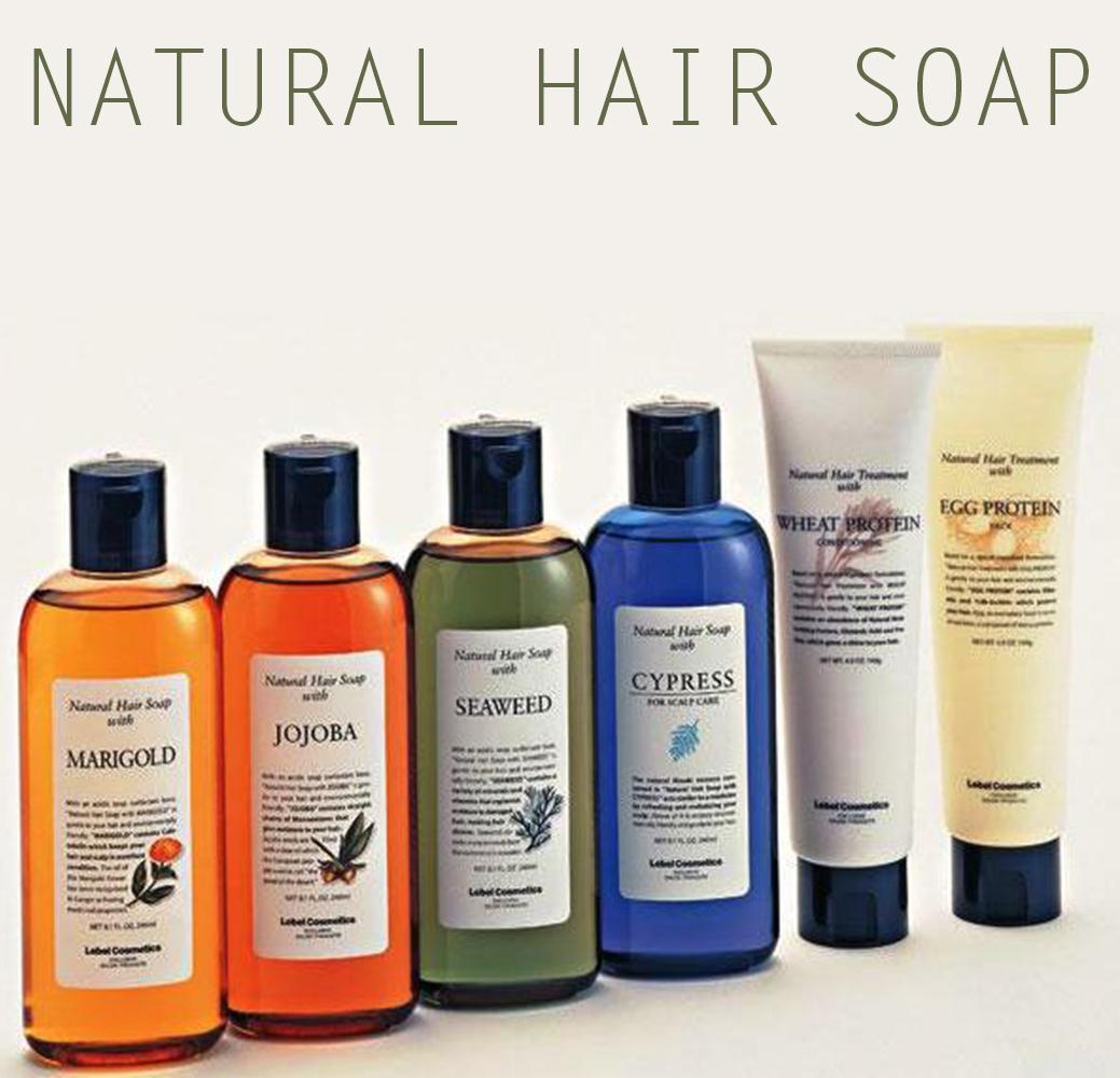 Natural  - Серия натуральных препаратов для волос