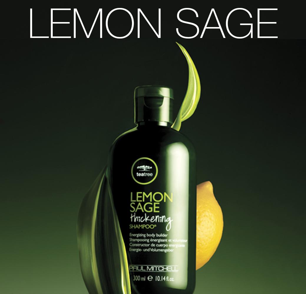 Lemon Sage - Тонизирующая и объемообразующая линия