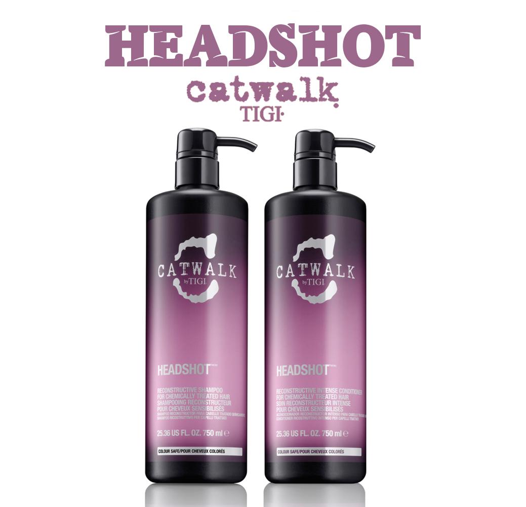 Catwalk Headshot - Для поврежденных волос