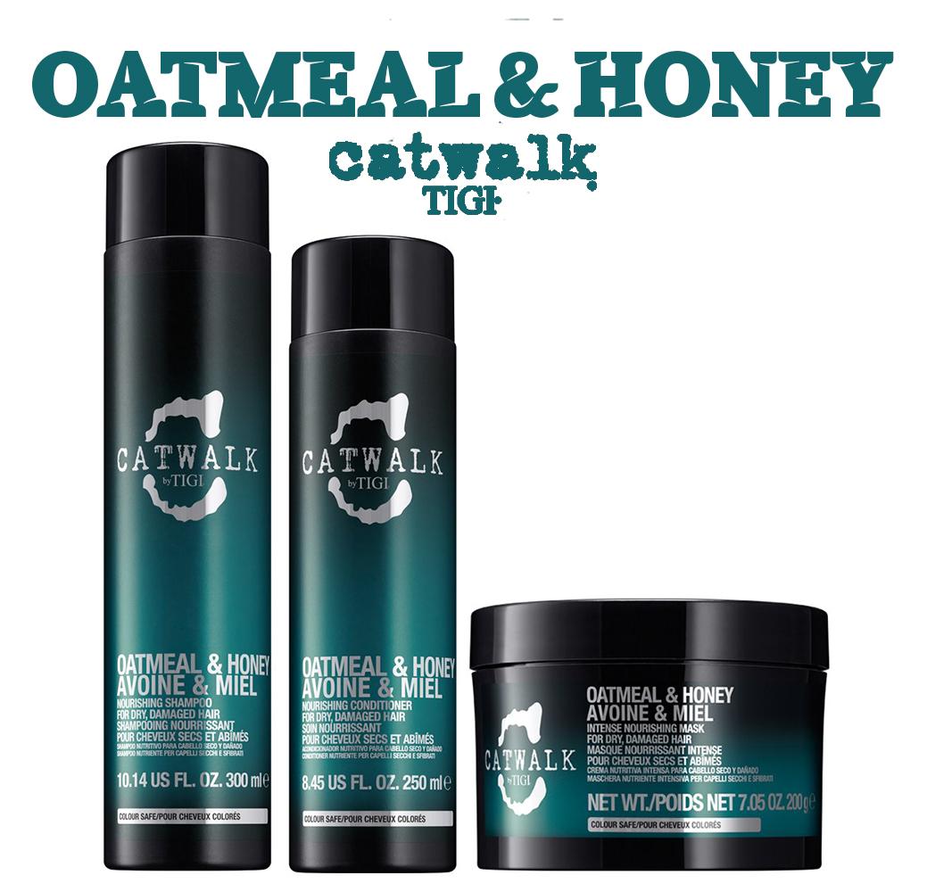 Catwalk Oatmeal & Honey - Для питания сухих и ломких волос