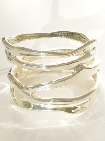 Серебряные браслеты гальванопластика