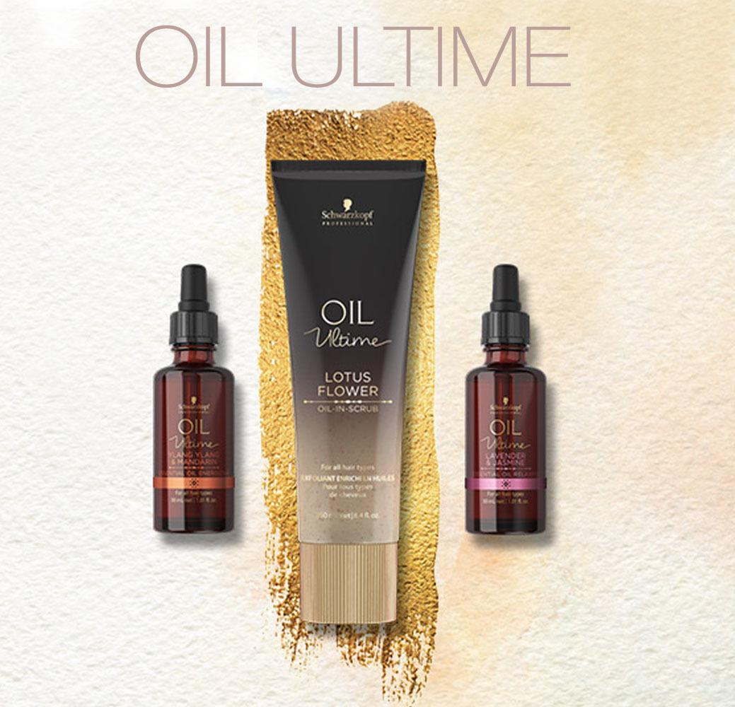 Oil Ultime - Уход за волосами и кожей головы на основе масел