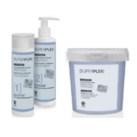SuperPlex - Обесцвечивание волос с максимальной защитой их структуры