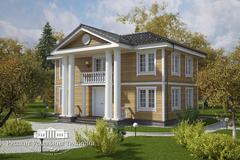 Проекты домов в стиле русской усадьбы «Классика»