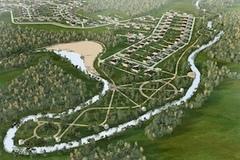 Дачные поселке на Оке