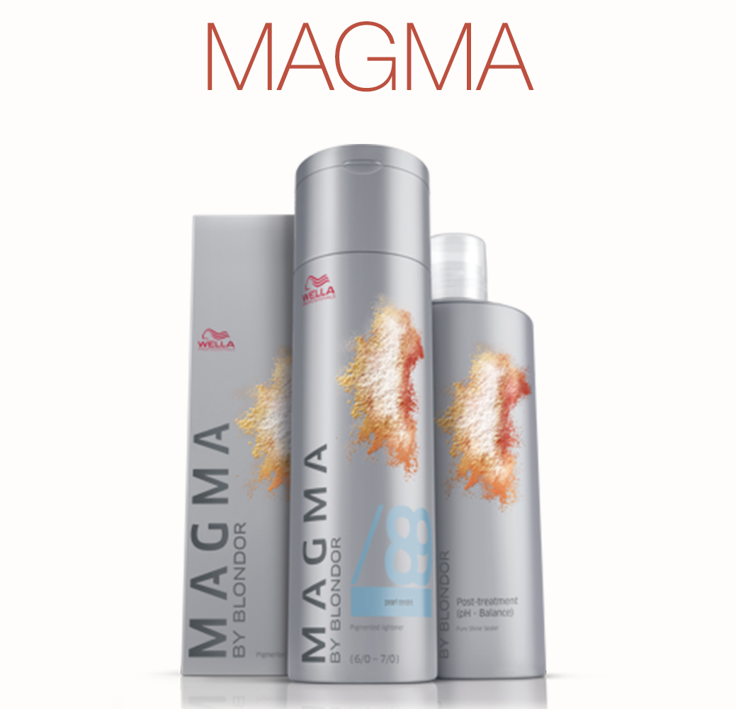 Magma - Цветное мелирование