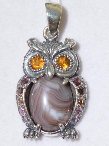 Серебряные украшения  с животными