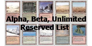 ABU и Reserved List
