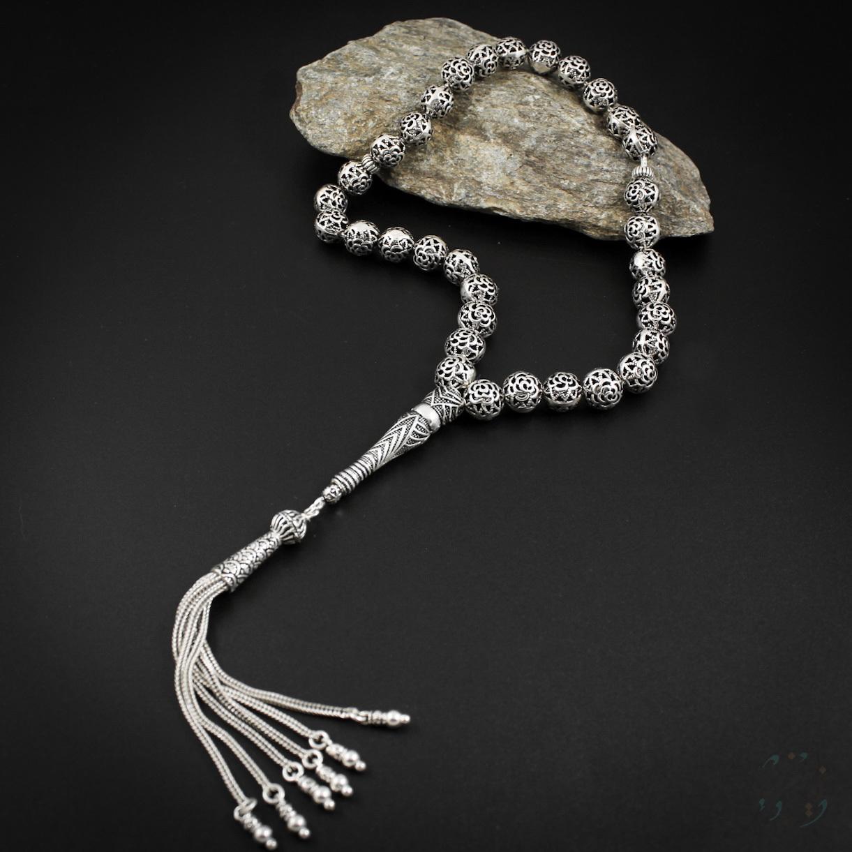 Чётки из серебра