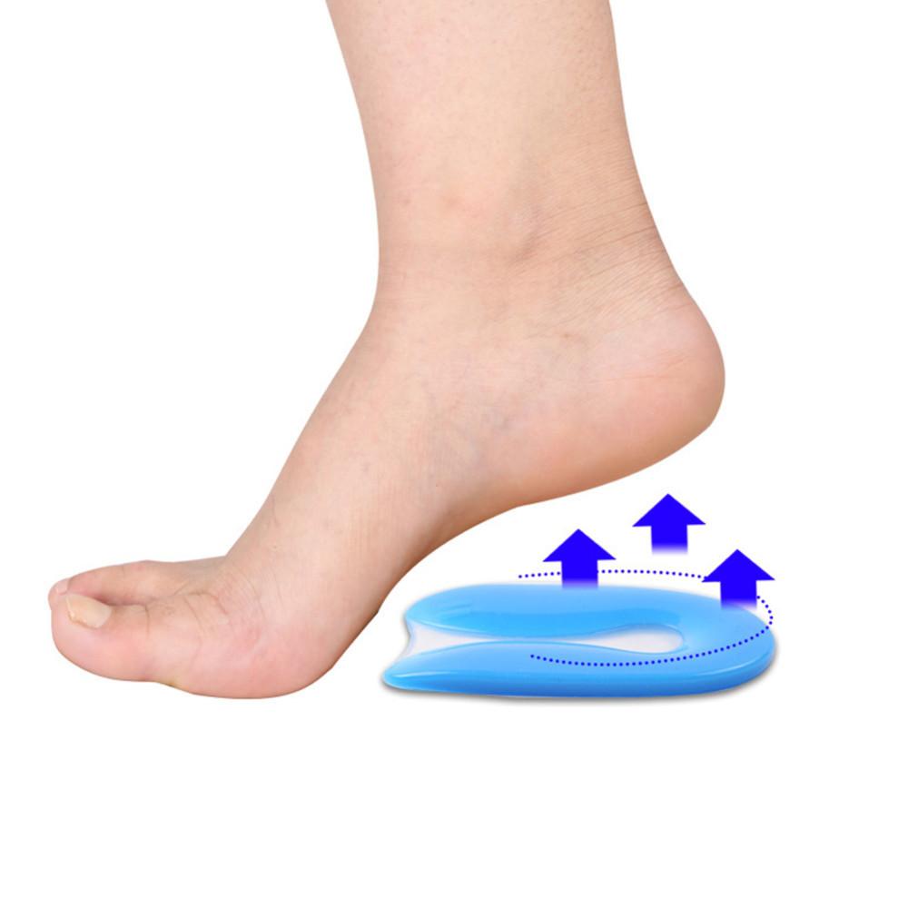 Силиконовые и кожаные подпяточники в обувь при пяточной шпоре, мозолях и болях при ходьбе