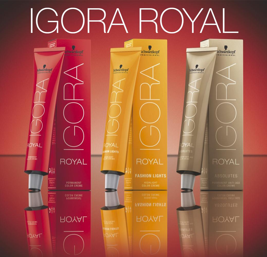Igora Royal - Стойкая крем краска