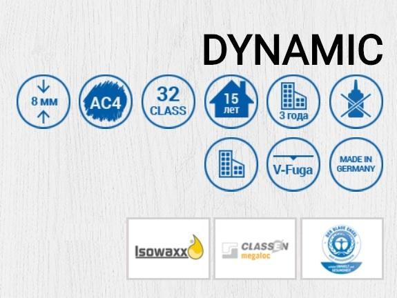 EXTRAVAGANT DYNAMIC 8 mm