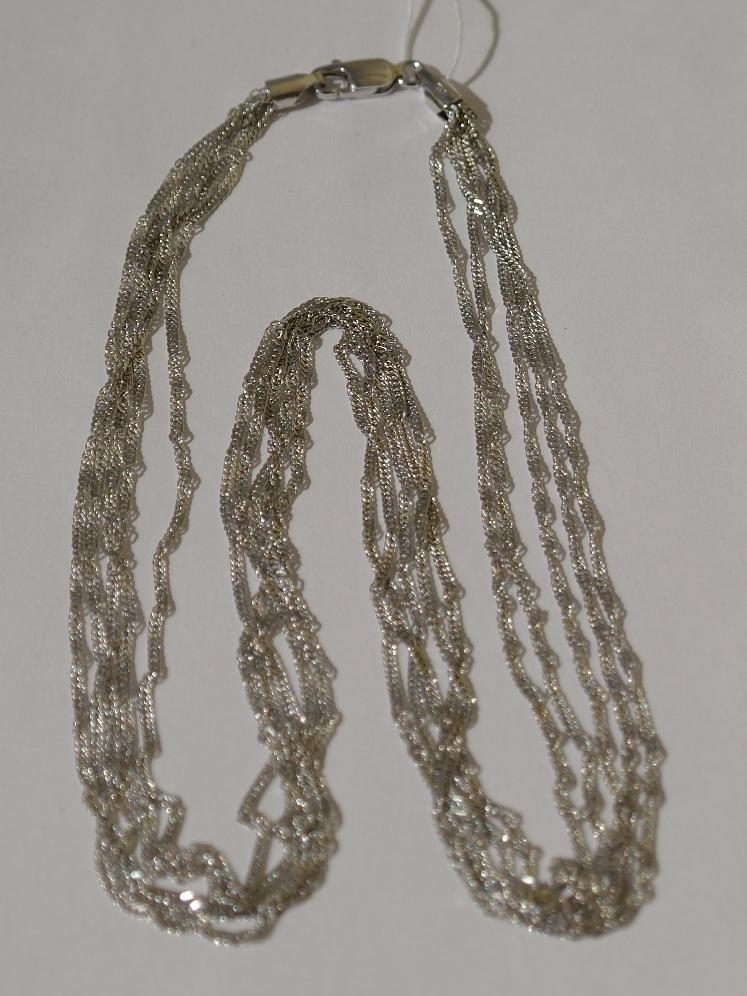 Серебряные перлины