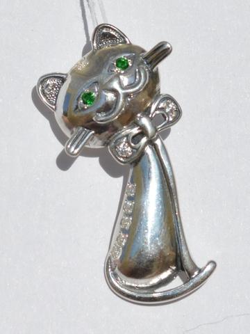 Серебряные кулоны с животными