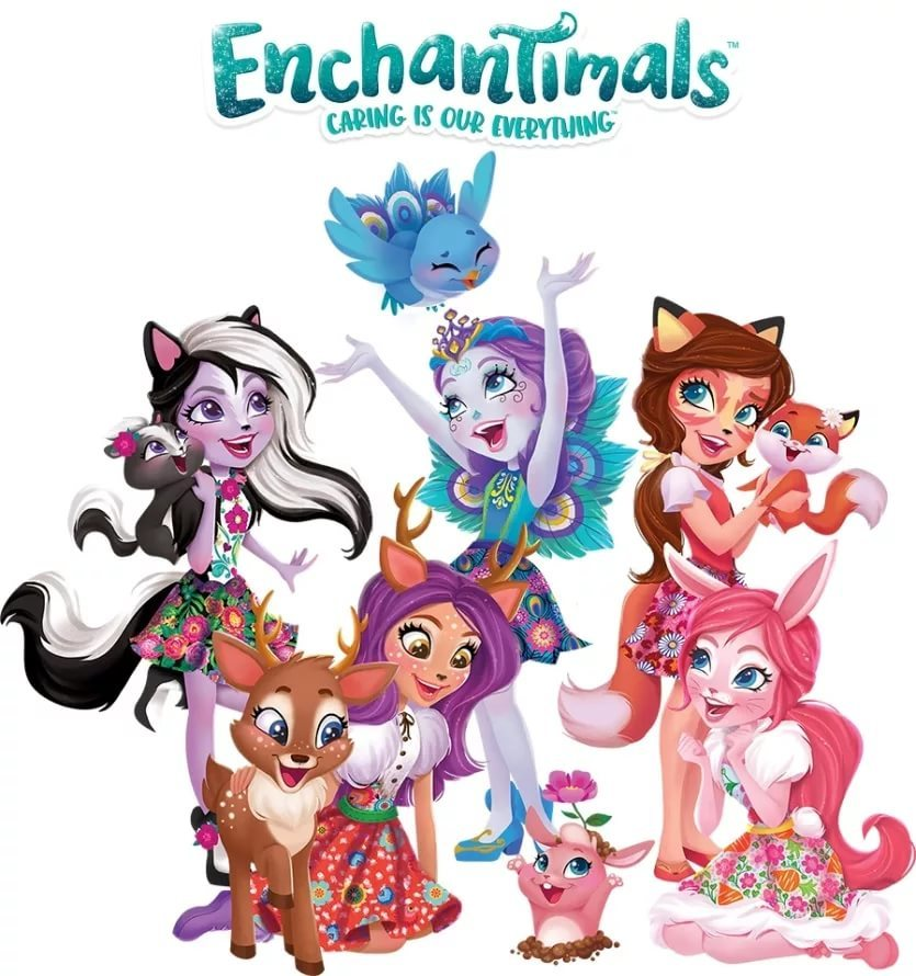 ЭНЧАНТИМАЛС ПОДРУЖКИ - ENCHANTIMALS