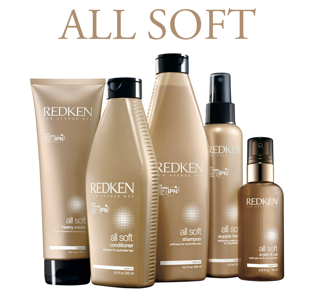 All Soft - Для сухих склонных к ломкости волос