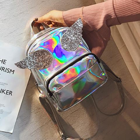 Рюкзаки голографические