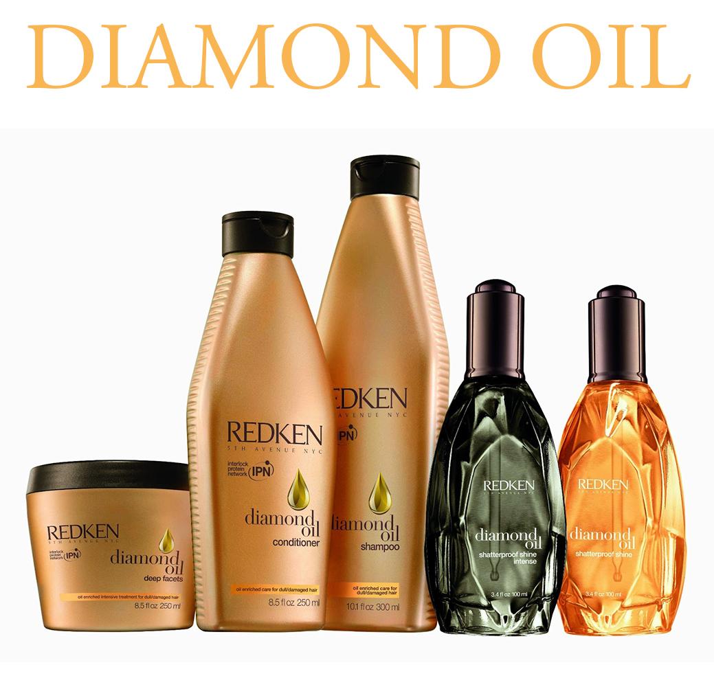 Diamond Oil - Прочность и блеск бриллианта