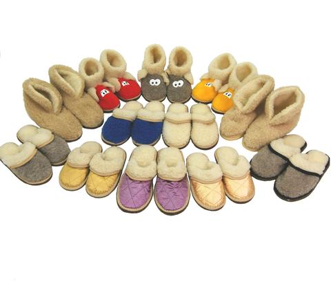 Уютная домашняя обувь