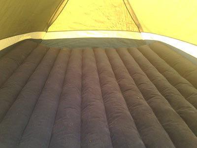Надувные коврики и матрасы для палатки