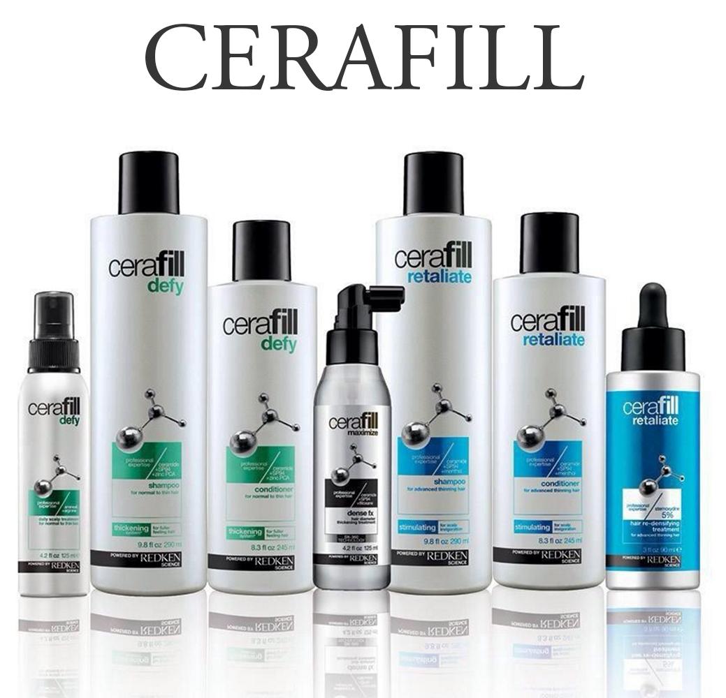 Cerafill - Для объема и плотности истонченных волос