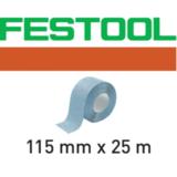 Материал Granat для ручного шлифования в рулоне 115ммx25м  Festool