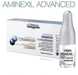 Aminexil Advanced - Программа от выпадения волос