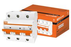 Автоматические выключатели ВА47-100 хар-ка С