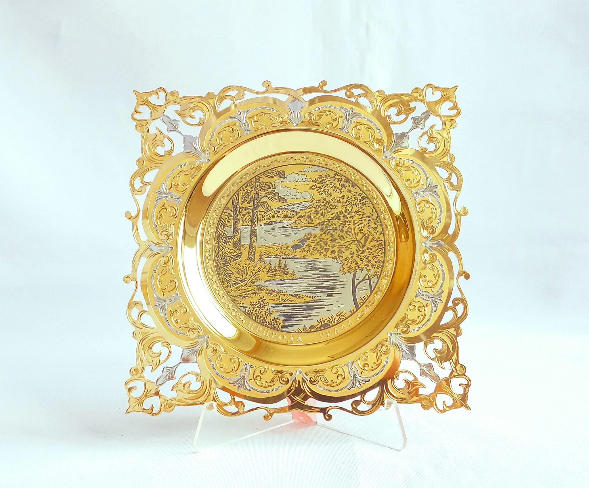 Декоративные тарелки Златоуст