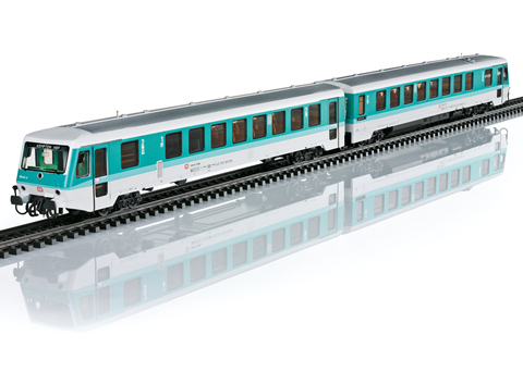 НОВИНКА! Marklin 37728 Цифровой Дизель-поезд DB Bauraihe 628 со звуком