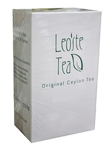 Чай Leoste Green Tea With Ginger & Lemon 1кг