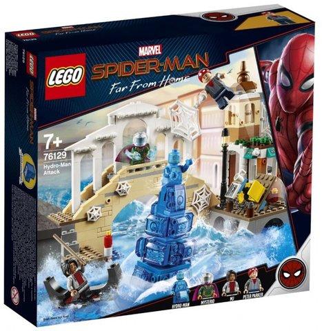 LEGO Super Heroes: Нападение Гидромена 76129 — Hydro-Man Attack  — Лего Супергерои Марвел