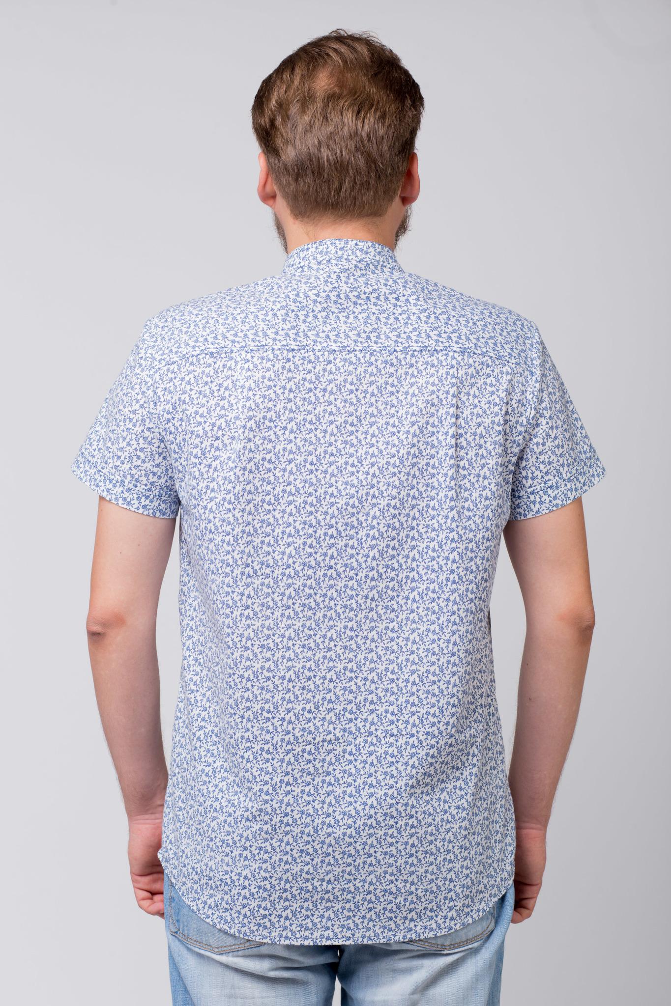 Рубашка льняная Енисейская вид сзади