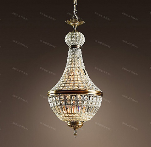 replica  19TH C. FRENCH EMPIRE CRYSTAL Restoration Hardware 68060237