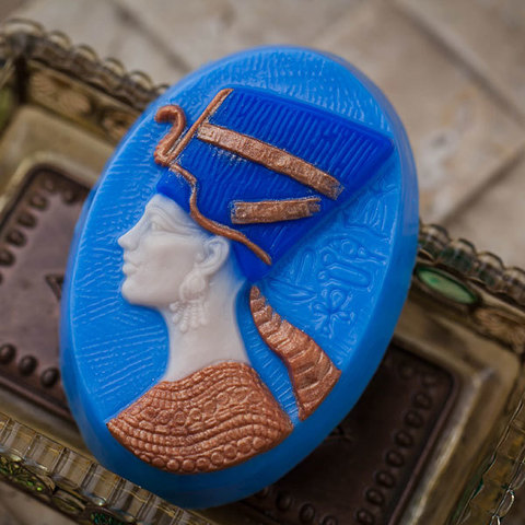 Пластиковая форма для мыловарения Нефертити