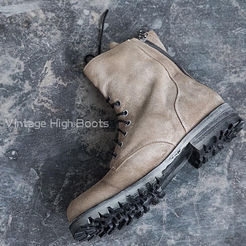 Ботинки «Vintage high»