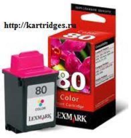 Картридж Lexmark 12A1980 №80