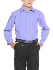 TH15-6 рубашка для мальчиков, светло-сиреневая