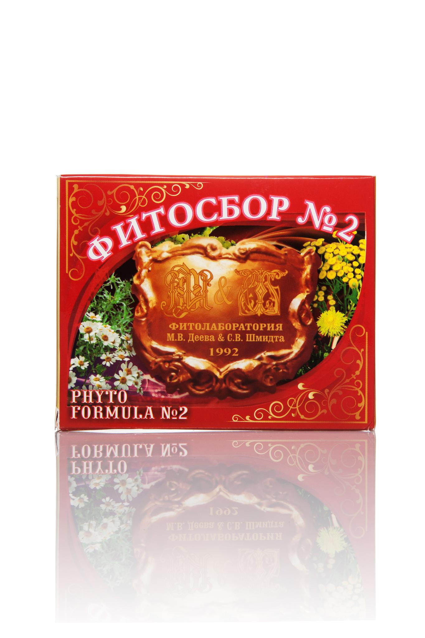 Антипсориаз Фитосбор №2 20 г.