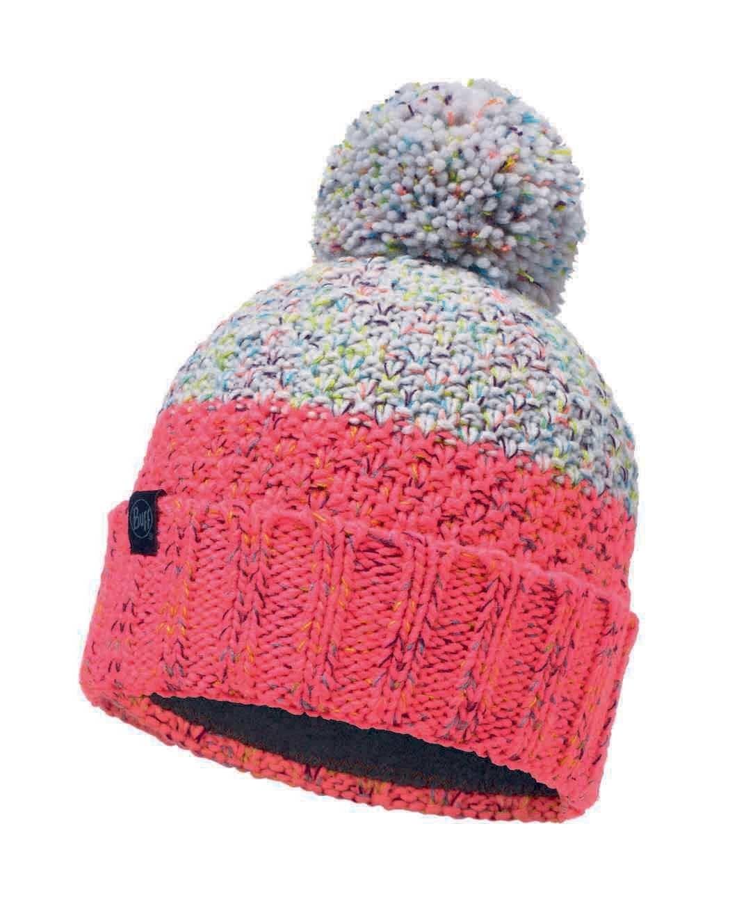 Шапки с помпоном Вязаная шапка с флисовой подкладкой Buff Hat Knitted Polar Janna Cloud 117851.003.10.00.jpg